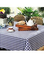 無味環境保護防水テーブルリネンホテルテーブルクロスの矩形PVCをknowll