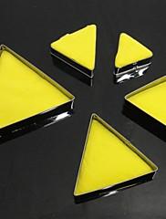 耐熱皿、高品質のステンレス鋼クリニーク三角形のクッキーモールド