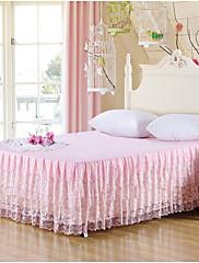 韓国の王女のレースのベッドカバーベッドスカートマットレス防塵カバー寝具セットをyuxin®printing