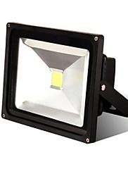 ブラック防水50ワット5000lm 2800-7000k冷白色光と暖かい白色光は、LEDフラッドランプ(85V-265V)