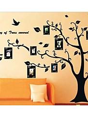 fotorámeček strom samolepky na zeď zooyoo2141 Dětský pokoj nástěnné umění obývací pokoj na stěnu