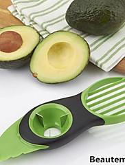 1枚 カッター&スライサー For フルーツのための プラスチック クリエイティブキッチンガジェット / 高品質 / 多機能