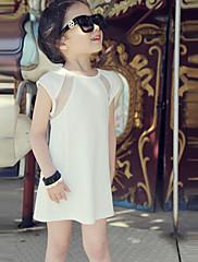 Dívka je Léto Bavlna Šaty Bez rukávů