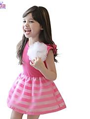 Dívka je Jednobarevné Léto Šaty Bavlna Černá / Červená / Bílá