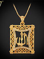 Ogrlica s privjeskom Vintage/Slatko/Zabava/Posao/Ležerne prilike ( Legure/Štras/Pozlaćeni nakit )