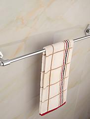 moderní elegantní mosaz chrom 60cm singl držák na ručníky