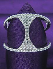 """ženské módy """"h"""" tvar platinovaného 925 mincovní stříbro, zirkony strana ring"""