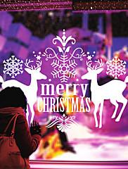 samolepky na zeď lepicí obrazy na stěnu ve stylu Veselé Vánoce jelen pvc samolepky
