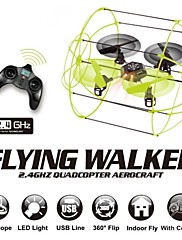 létání chodítko fy312 drone 4ch rc Kvadrokoptéra 2,4 GHz 4-osa připraven k letu Nástěnná řídící radio lezení vrtulník