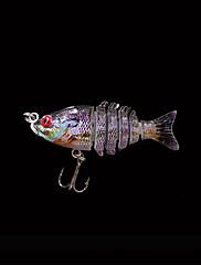 1 個 ハードベイト / ルアー ハードベイト パープル 2.2 グラム オンス,50 mm インチ,硬質プラスチック 海釣り