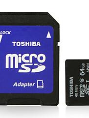 東芝64ギガバイトクラス10マイクロSDXC SDHCメモリーカードUHS-Iは、SDアダプタ40メガバイト/ sの