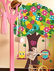 Zvířata / Botanický motiv / Romantika / Zátiší / Módní / květiny / Fantazie Samolepky na zeď Samolepky na stěnu , PVC60x90x 0.1cm