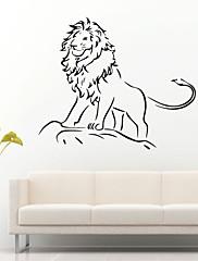 動物 / カートゥン / ファッション / ファンタジー ウォールステッカー プレーン・ウォールステッカー , Vinyl stickers 58*49cm