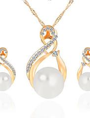 Šperky Náhrdelníky / Küpeler Svatební / Párty / Denní / Ležérní Slitina 1Nastavte Dámské Zlatá / Stříbrná Svatební dary