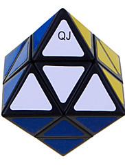 Qiji® スムーズなスピードキューブ エイリアン スピード マジックキューブ 黒フェード プラスチック