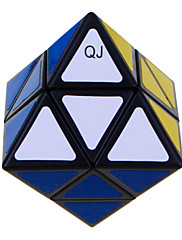 Qiji® Hladký Speed Cube Alien Rychlost Magické kostky Black Fade Plast