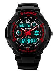 skmei 50 m vodotěsné, japonsko pohyb, duální čas zóny, venkovní sportovní hodinky