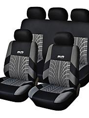 9 kom Set auto sjedalo pokriva za materijal poliester Tehnologija Heat-reljefni Universal Fit