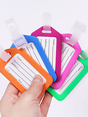 Travel Luggage Tag Luggage Accessory Waterproof Rubber