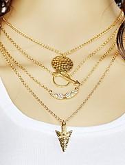 Náhrdelníky Obojkové náhrdelníky / Prohlášení Náhrdelníky Šperky Svatební / Párty / Denní / Ležérní Módní Slitina Stříbrná 1ks Dárek