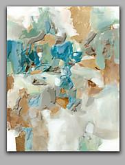 Ručně malované Abstraktní Vertikální Panoramic,Moderní Jeden panel Plátno Hang-malované olejomalba For Home dekorace