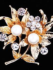 dámské crystal flower pro svatební party dekorace šátek, jemné šperky, náhodné barvy