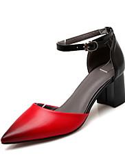 Ženske cipele-Sandale / Salonke / štikle-Vjenčanje / Aktivnosti u prirodi-Umjetna koža-Kockasta potpetica-Štikle / D'Orsay cipele /