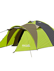 Makino 2 persons Tent Triple One Room Camping Tent 2000-3000 mm OxfordBreathability Ultraviolet Resistant Rain-Proof Anti-Insect