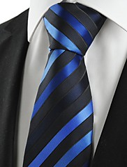 Muž Umělé hedvábí / Bavlna / Polyester Vintage / Roztomilý / Party / Pracovní / Na běžné nošení Kravata,Proužky