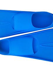 ダイビングフィン 水泳 シリコーン ブルー