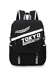Bag Inspirirana Tokio Ghoul Ken Kaneki Anime Cosplay Pribor Bag / ruksak Crna Canvas Male / Female