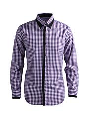 JamesEarl 男性 シャツカラー ロング シャツ&ブラウス レッド - DA112045818
