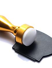 bluezoo zlato / stříbro Nail Art lisování