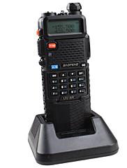 宝豊 UV-5R-5W+3800L-black トランシーバー 4W / 1W (Max 5W) 128 136-174MHz / 400-520MHz 3800mAh 3KM-5KMFMラジオ / 非常警報器 / プログラム式PCソフトウェア / 節電モード /