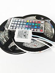 z®zdm 10 m 150x5050 vodotěsný SMD RGB LED strip světla 44key dálkový ovladač 1bin2 spojnice (DC12V)