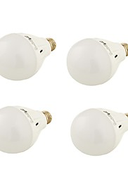 7W E26/E27 LEDボール型電球 A60(A19) 16 SMD 5730 550 lm 温白色 / クールホワイト 装飾用 交流220から240 V 4個