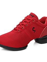 Na míru-Dámské-Taneční boty-taneční boty-Koženka-Kačenka-Černá / Červená / Bílá