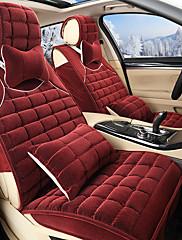 krátké plyšové plyšové teplé polštář sady zimní auto Velikost sedadla 125-133-140 cm hrnou polštář