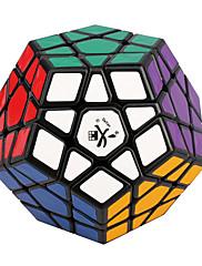 Dayan® Hladký Speed Cube Megaminx Magické kostky Black Fade ABS