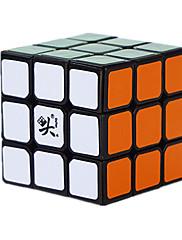Dayan® Stres relievers / Magické kostky 3*3*3 / Hladký Speed Cube Black Fade Plast Hračky