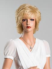 優雅な層媒体波状キャップレスかつら高品質の人間の毛髪混合色12インチ