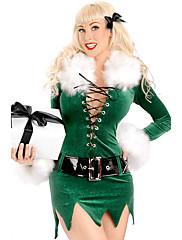 Cosplay Nošnje Zelen Terilen Cosplay pribor Božić / Karneval