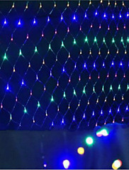 主導のネットはクリスマスは防水カラー化1.5 * 1.5 M96ランプソケットを点灯点灯します
