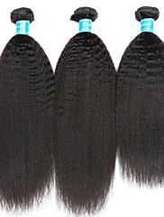 Человека ткет Волосы Малазийские волосы 12 месяцев 3 предмета волосы ткет