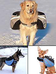 犬 犬パック ペット用 キャリア 調整可能/引き込み式 反射 携帯用 ソリッド グレー ブルー