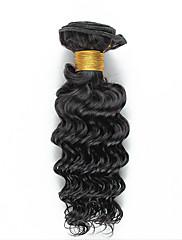 Lidské vlasy Vazby Brazilské vlasy Kudrny 18 měsíců Jeden díl Vazby na vlasy