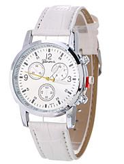 Dámské Ženské Sportovní hodinky Módní hodinky Náramkové hodinky Unikátní Creative hodinky Hodinky na běžné nošení Křemenný Kůže Kapela