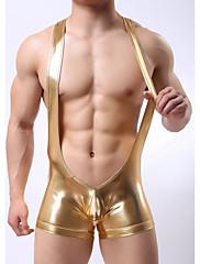 Homens Camiseta Intima Estilo Cueca,Sensual Sólido