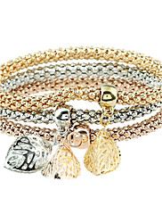 Žene Nakit za gležanj Dijamant Životinjski dizajn Punk stil Rock luksuzni nakit Metalik Umjetno drago kamenje LeguraCircle Shape Leaf