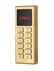 Metal vodootporna kontrola pristupa ID kartica lozinka kontrola pristupa vodootporan pozadinsko osvjetljenje gumb 125khz